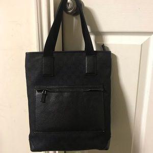 Authentic black deep  GG monogram hobo bag